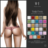 [ west end ] - Tabitha - BOM Panties - Solids Pack [add]