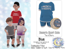 {SMK} Danny's Sports Set | Blue