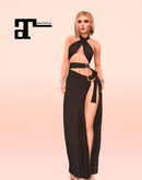 XK Maitreya Vivica Gown Black