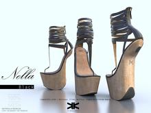 Nella :: Woman Shoes :: Black :: {kokoia}