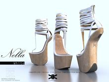 Nella :: Woman Shoes :: White :: {kokoia}