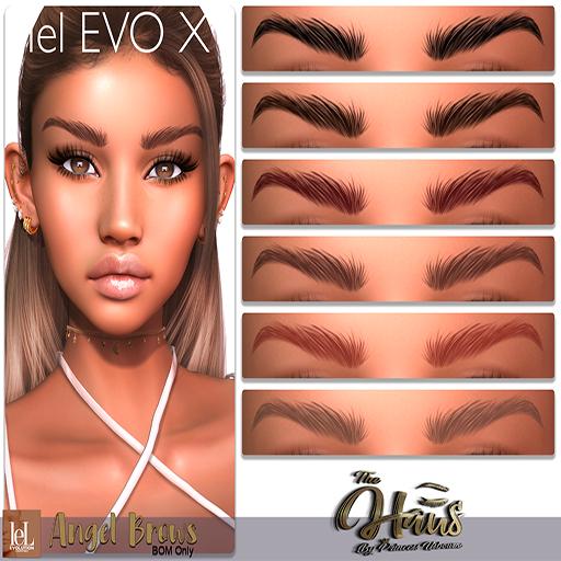 .:the-HAUS:. Angel BOM Eyebrows (LeL Evo X)