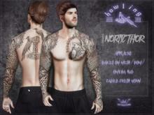 [ H O W L I N G ]-NORTIC THOR- Tattoo