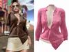 -[ vagrant ]- Brooklyn Shirt - Warm Pink