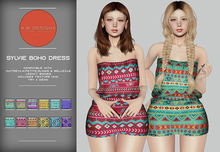 KiB Designs - Sylvie Boho Dress DEMO