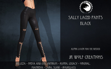 Sally Laced Pants Black ADD ME (JR Wolf Creations)