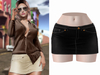 -[ vagrant ]- Brooklyn Skirt - Black