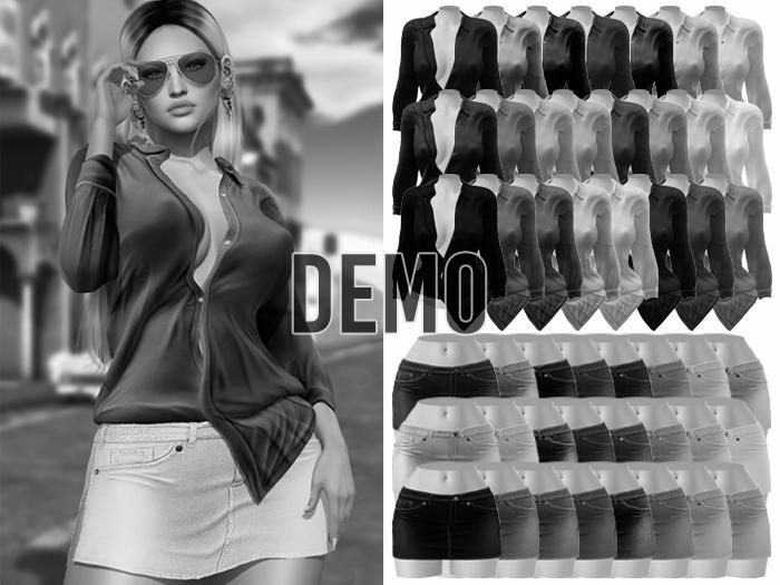 -[ vagrant ]- Brooklyn Set Megapack - DEMO (Shirt & Skirt DEMO)