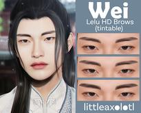 littleaxolotl_WEI HD Brows (tintable)
