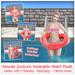 [: Kawaii Couture :] Polka Dot Heart Float - Red