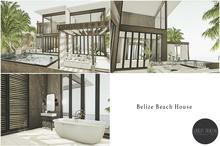 Scarlet Creative Belize Beach House - Unfurnished Beach House Mesh House
