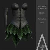 .AiShA. Elva Dress Black