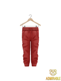Admirable- Skinny Joggers (Red)