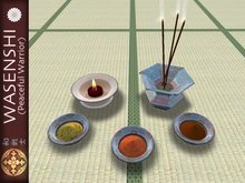 Buddhist Temple offering set
