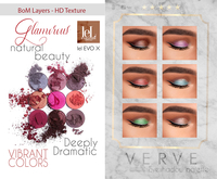 VERVE - Glamorous / Eyeshadow palette [BoM ONLY]