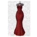 MAAI Goddess gown * Lara&Legacy&Kupra * Red