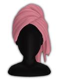 *CY* Shai . LightPink . Head Towel // (Add)