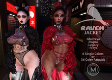 [MODA] Raven Fur Jacket:FATPACK