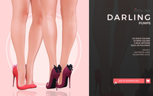 *GIFT* Little Fox - Darling pumps // FULLPACK