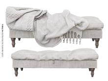 Nutmeg. Snug Daydream Ottoman Bench