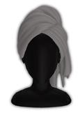 *CY* Shai . Grey . Head Towel // (Add)