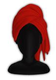 *CY* Shai . Cherry . Head Towel // (Add)