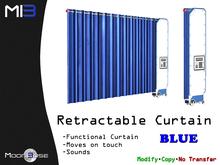 [MB3] Retractable Curtain - Blue