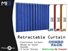 [MB3] Retractable Curtain - Combo Pack