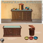 *PC* Pastoral Kitchen Workbench