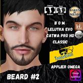 #TS# Beard #2 BOM- Lel Evo/Catwa HD Pro/Classic