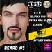 #TS# Beard #3 BOM - Lel Evo/Catwa HD Pro/ Classic