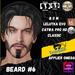 #TS# Beard #6 BOM - Lel Evo/Catwa HD Pro/ Classic