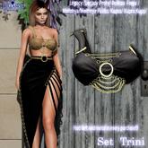 BRILLANCIA -  Top Trini black