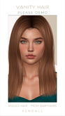 *Vanity Hair*:Kendall-The Reds Pack
