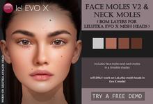 Izzie's - Face Moles V2 & Neck Moles (LeLutka Evo X)