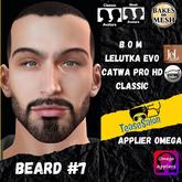 #TS# Beard #7 BOM - Lel Evo/Catwa HD Pro/ Classic