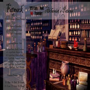 Mw- Alchemist's Potions -FATPACK