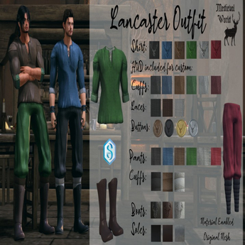 Mw- Lancaster Pants Fatpack
