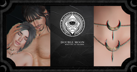 the crone . double moon {gold}