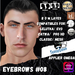 #TS#  Eyebrows #08 BOM - Lel Evo/Catwa HD Pro/ Classic