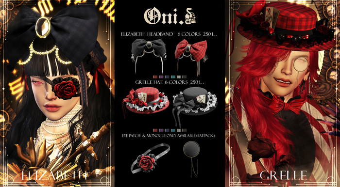 Oni.fatpack Elizabeth and Grell