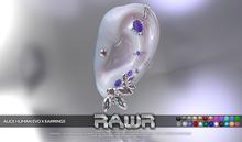 RAWR! Alice Human Earrings EvoX (add me)