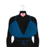 *CY* Aria . Blueberry . Bikini Top // (Add)