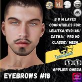 #TS# Beard #18 BOM - Lel Evo/Catwa HD Pro/AK/ Classic