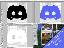 Discord New Logo May 2021 full perm textures