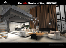[Dolphin Design]The 36 Shades of Grey Skybox
