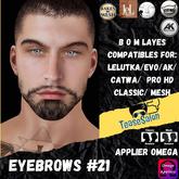 #TS# Beard #21 BOM - Lel Evo/Catwa HD Pro/AK/ Classic
