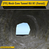 [FYI] Mesh Cave Tunnel Builder's Kit H1 (Forest)