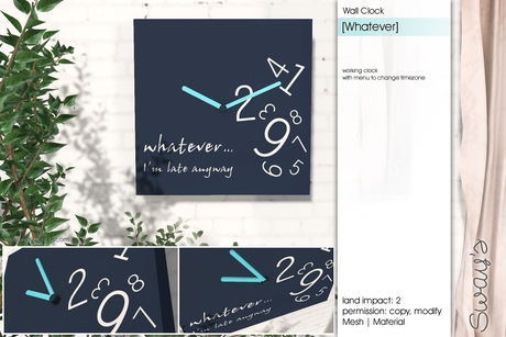 Sway's [Whatever] Wall Clock