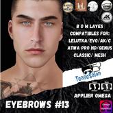 #TS#  Eyebrows #13 BOM - Lel Evo/Catwa HD Pro/ Classic